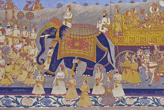 royal Rajput procession