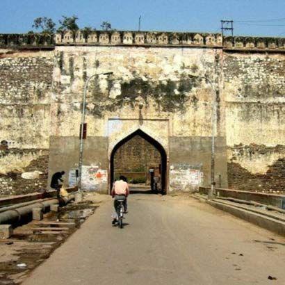 entrance lohagarh fort iron fort