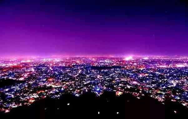 View of Pink City from Nahargarh Fort