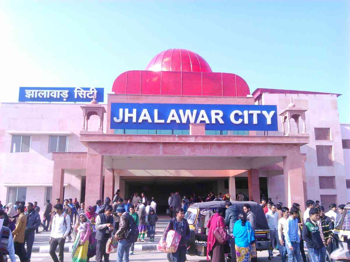Jhalawar City railway station (JLWC)