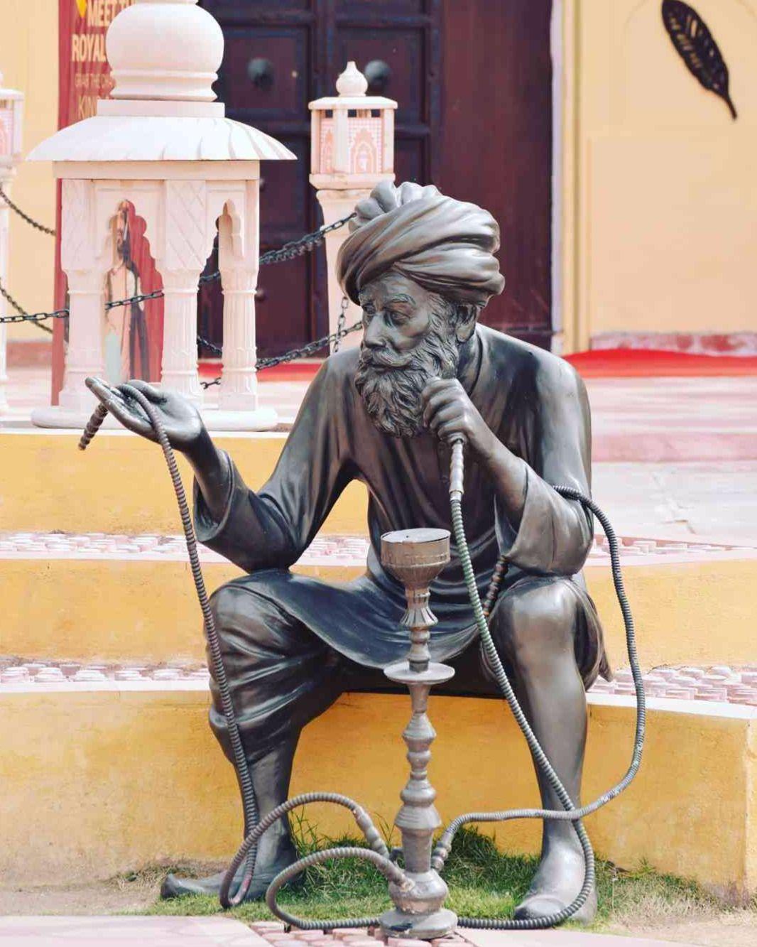 #thehookahguy #waxstatue #jaipur_wax_museum #jaipurwaxmuseum #jwm #jaipur #rajasthan