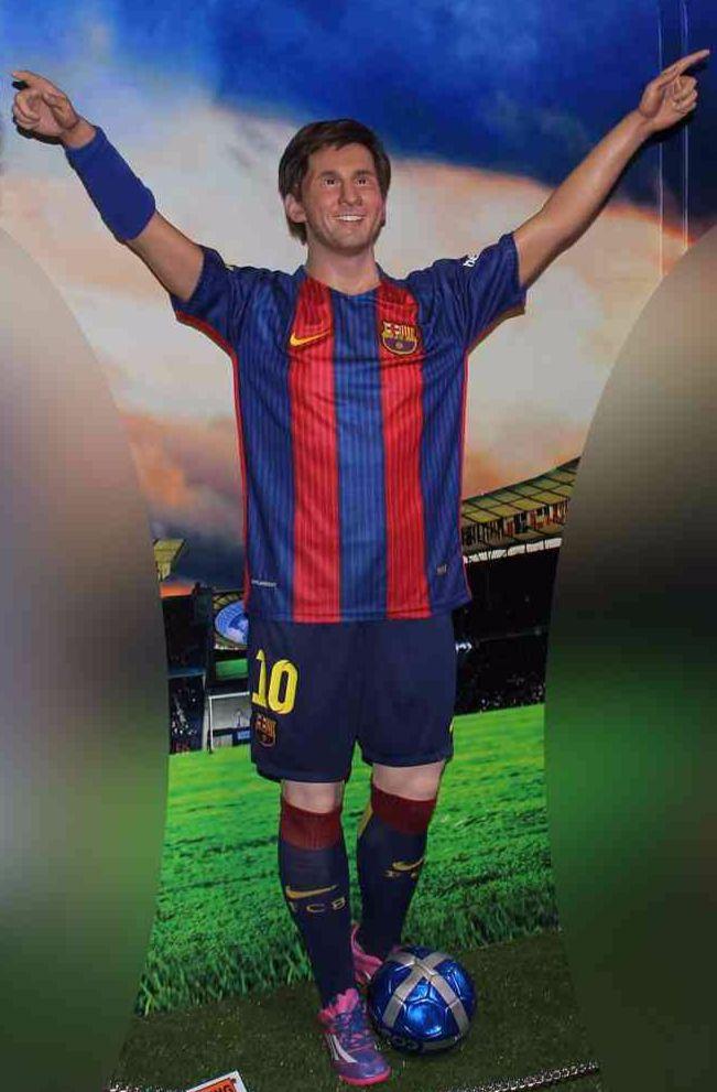 #lionelmessi #football #soccer #argentina #barcelonafc #waxstatue #jaipur_wax_museum #jaipurwaxmuseum #jwm #jaipur #rajasthan