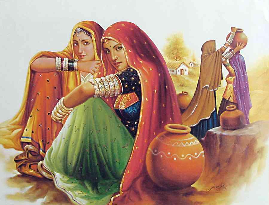 Mara gurjara painting