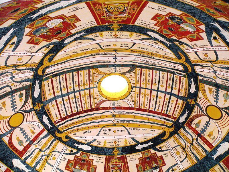 Oculus Dome Jawahar Kala Kendra Jain murals