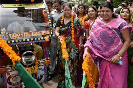 #vasundharasakhi #freetravelforwomen #tonk #rajasthan
