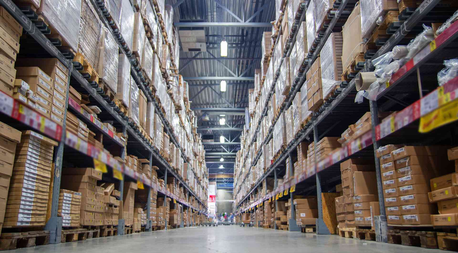 warehouse for EVM and VV Pet machines