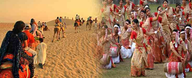 Assam is partnering with Rajasthan to hold a series of programmes to give people from their state the experience of each other's cultural diversity.