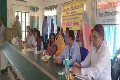 Mega Credit Camp for Women SHGs in Jhunjhunu Rajasthan