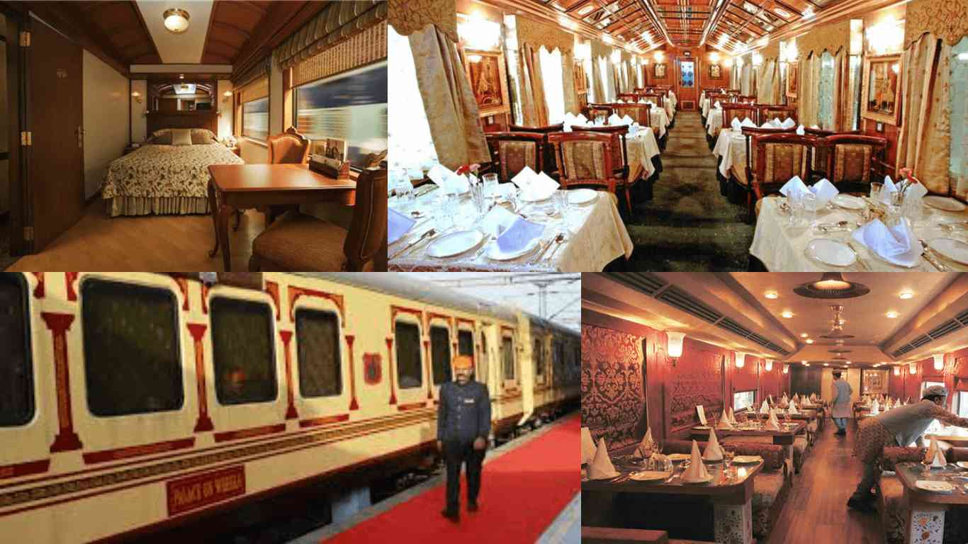 diwali decorated palace on wheels