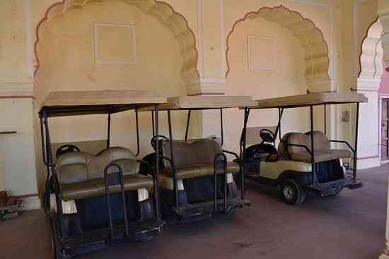 golf cart amer fort