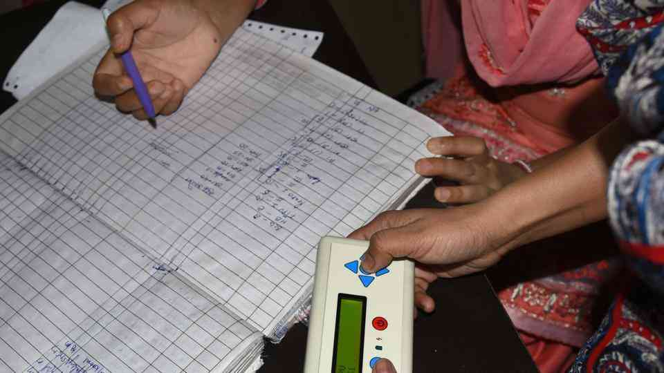 real-time information on vaccination of children