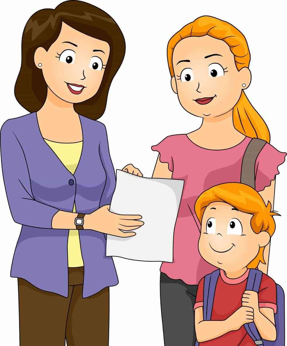 mother teacher meeting