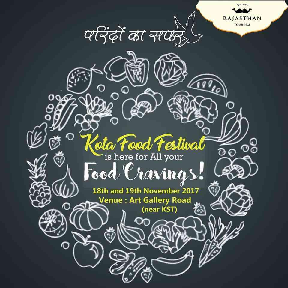 Parindo ka Safar along with Rajasthan Tourism has arranged an event called 'Kota Food Festival'