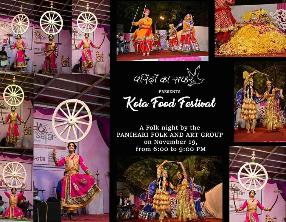 The Kota Food Festival won't be just about food, it will also be a fiasco of Rajasthani culture and folk art