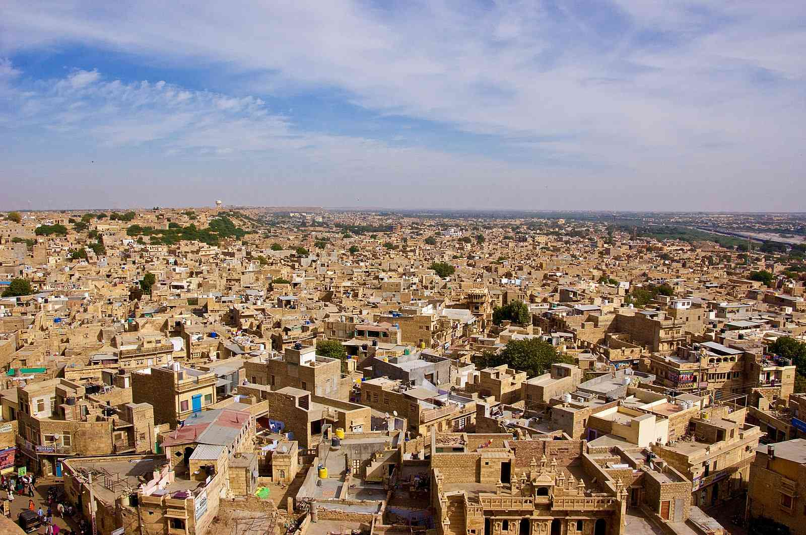 development in jaisalmer