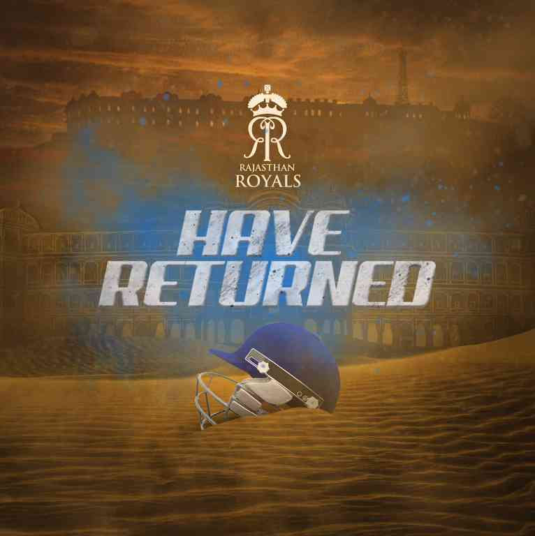 Rajasthan Royals have Returned