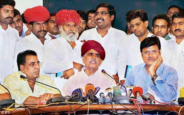Raj Govt. approves 1% reservation to Gurjars
