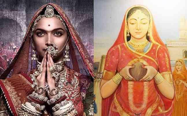 Deepika Padukone in Padmavati and Rani Padmini