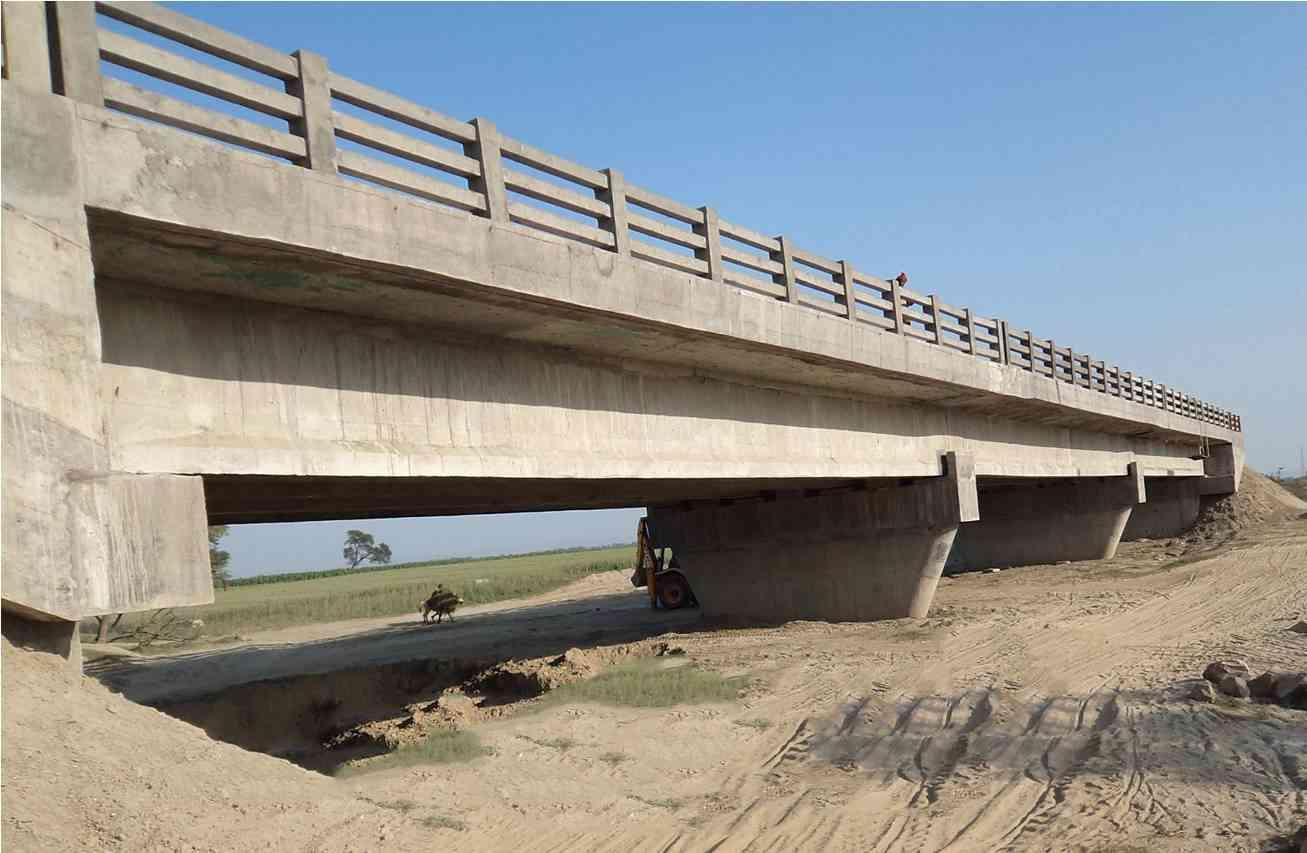 Completed PMGSY Bridge (representative image)