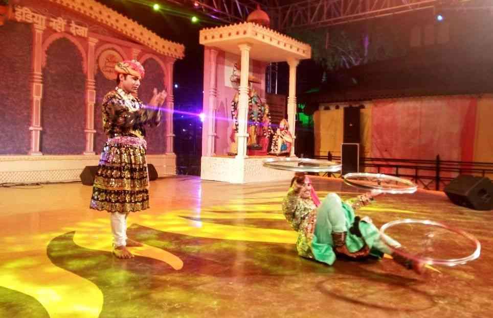 राजस्थान के लोक कलाकारों ने दी मनमोहक प्रस्तुति