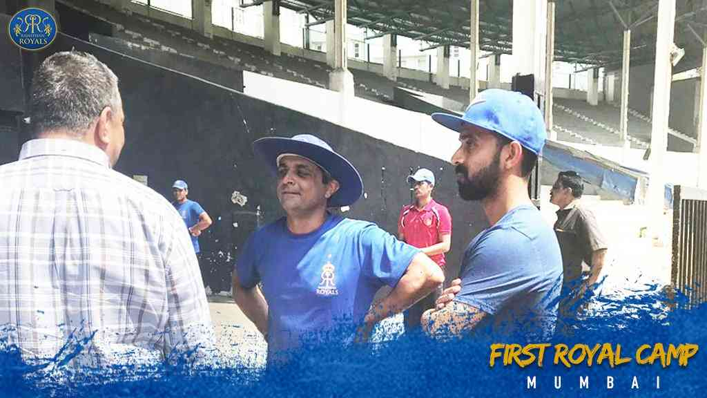 First Rajasthan Royals Practice Camp