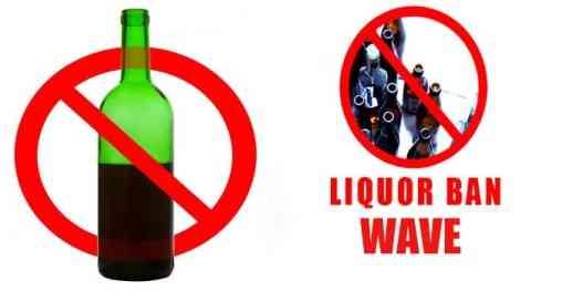 Liquor-Ban in Rajasthan