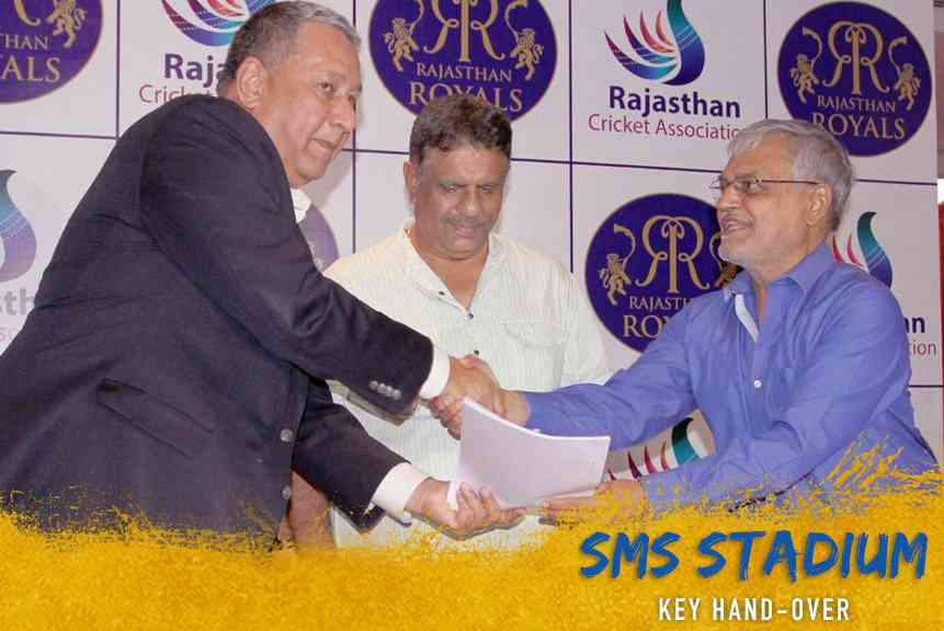 Venue agreement between RCA-RR for IPL