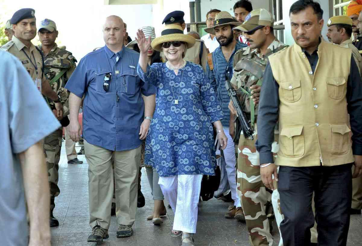 hillary clinton jodhpur india visit