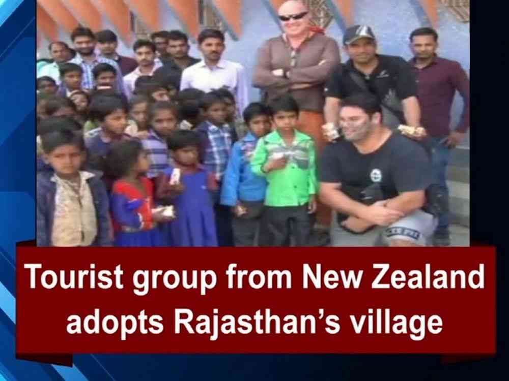 Rajasthan village adopted by Tourists from New Zealand
