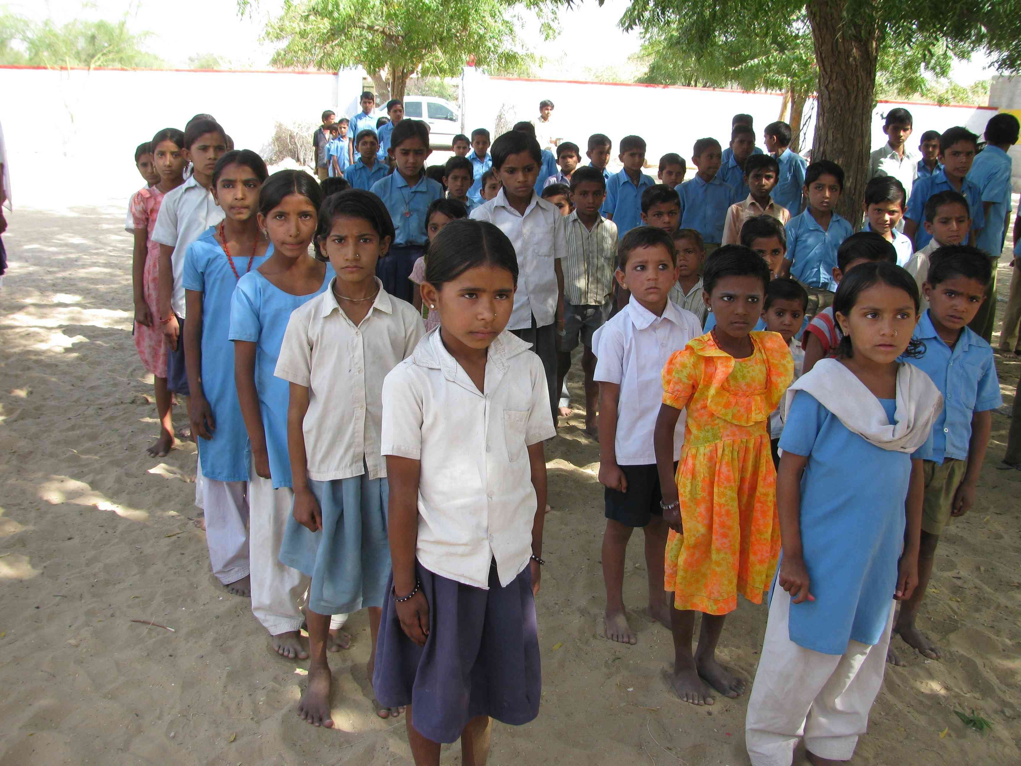 primary secondary government schools rajasthan