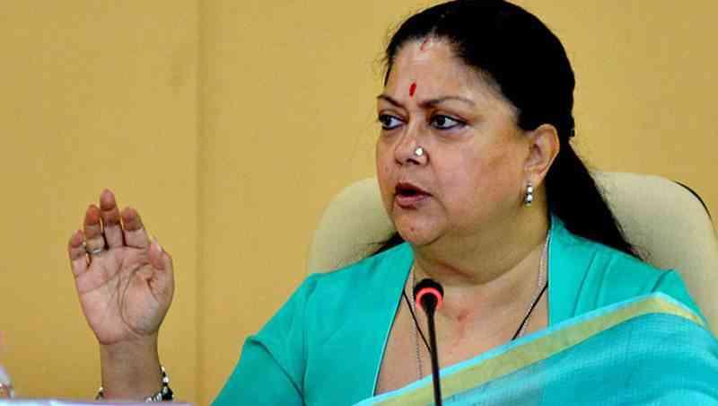 rajasthan government decision change vasundhara raje