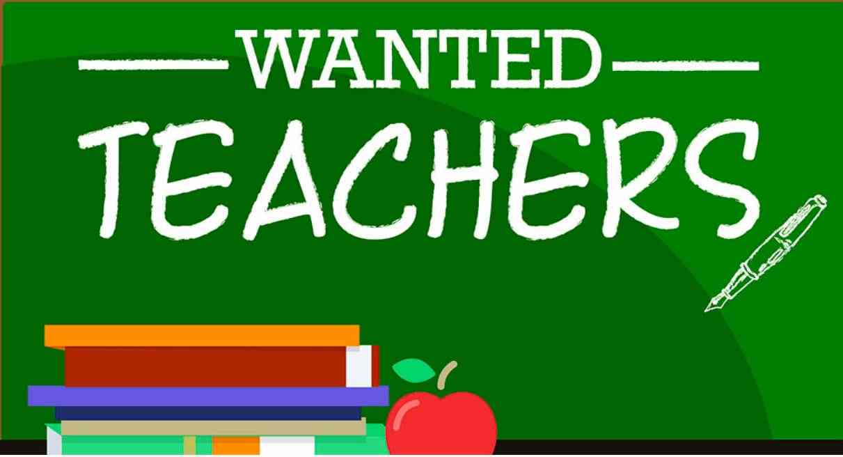 Image result for Teacher Wanted