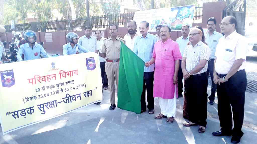 29th national road safety week vasudev devnani