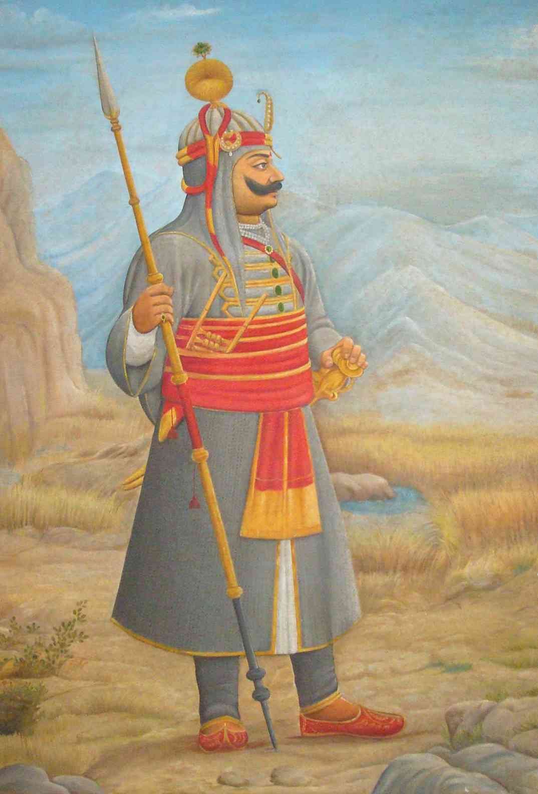 Painting Maharana Pratap