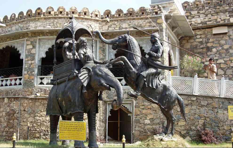 Maharana Pratap Mughal Sardar Man Singh Haldighati Battle