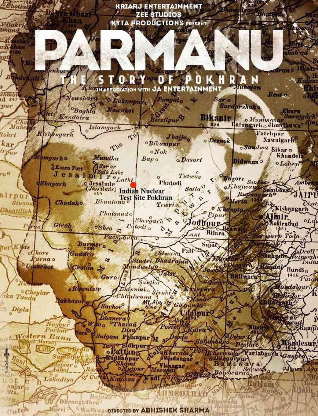 Parmanu - The Story of Pokharan film poster