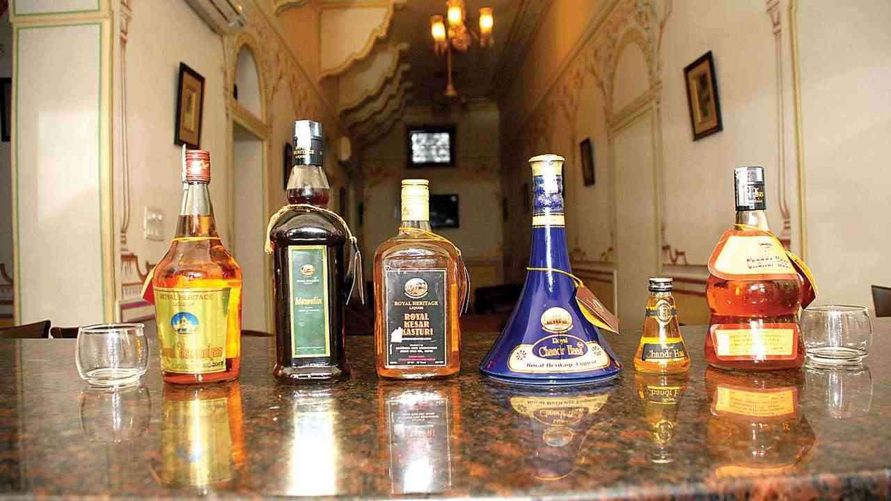 Royal Heritage Liqueur from Rajasthan