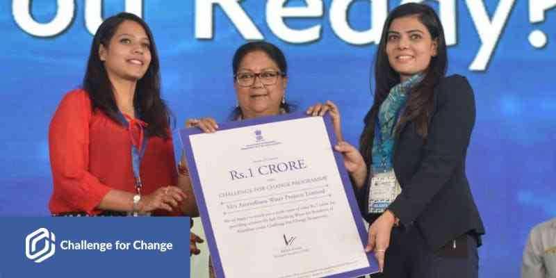 Rajasthan Government inviting entries for the Challenge for Change Contest