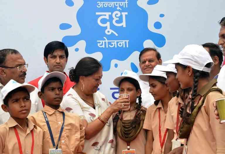 annapurna milk scheme