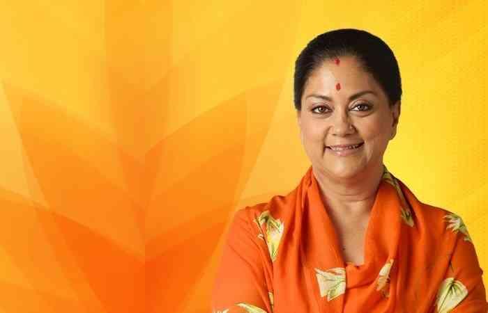 CM Vasundhara Raje, Rajasthan