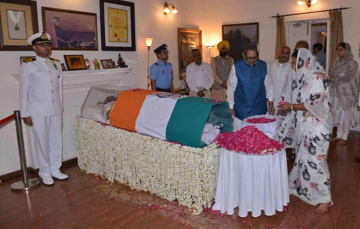 Vasundhara Raje pays tribute to Atal Bihari Vajpayee