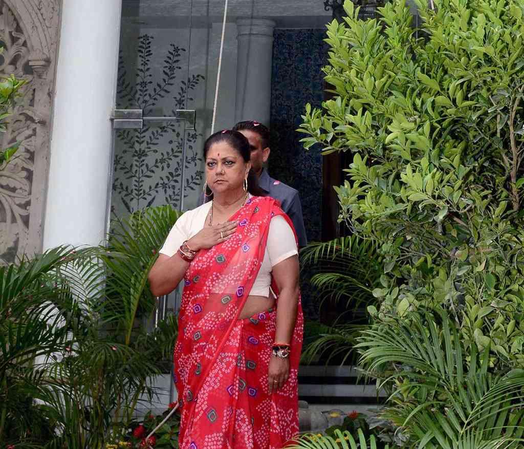 Vasundhara Raje on Independence Day