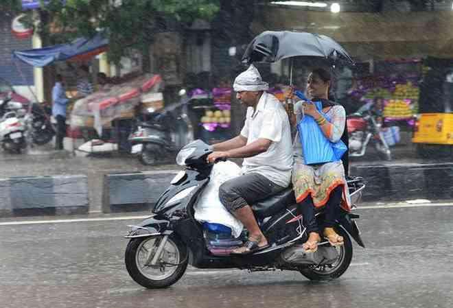 Rains in Rajasthan