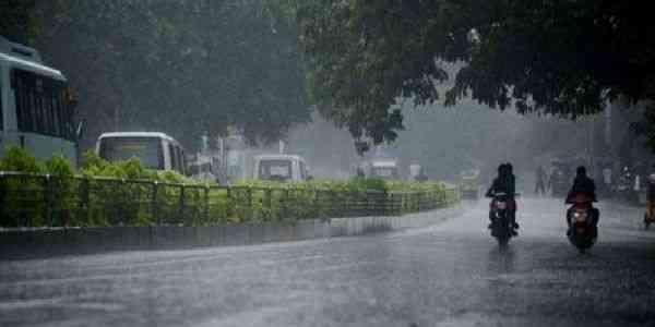 Rain in Jaipur
