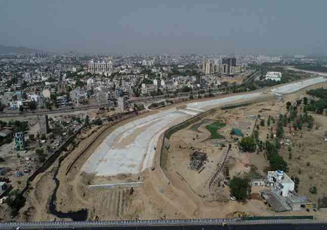Rajasthan's Drayavati riverfront