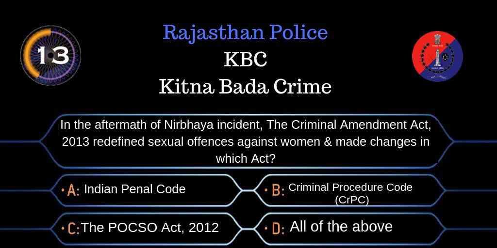 Kitna Bada Crime (KBC)
