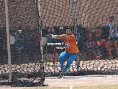 nitesh poonia hammer throw U18