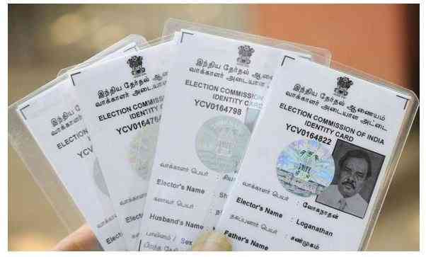 Voting cards