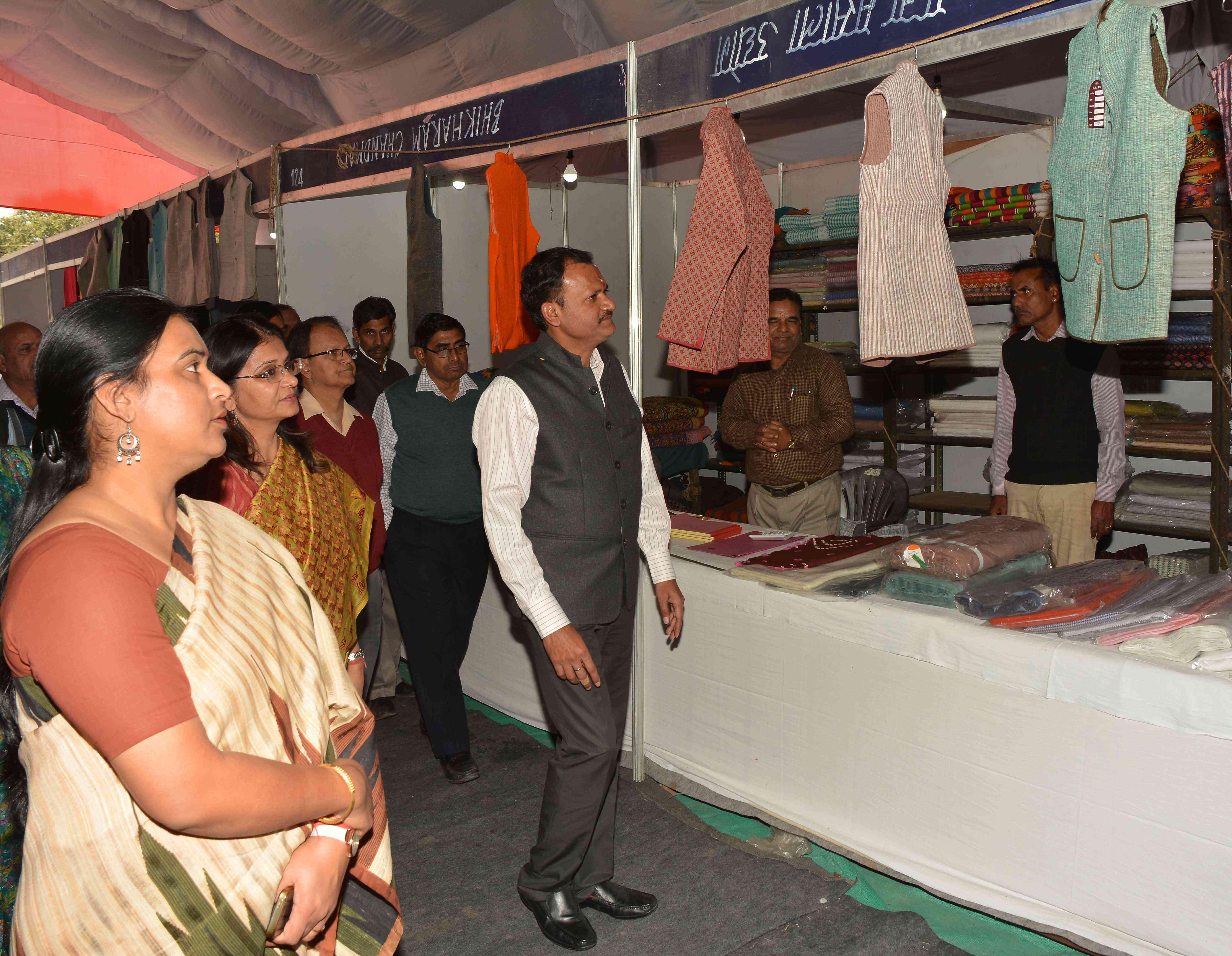 National Khadi Village Industries Exhibition, Jaipur