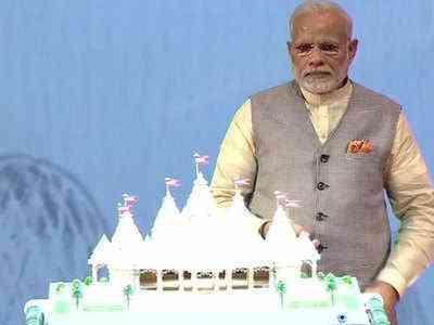 PM Modi inaugurated Temple construction in UAE